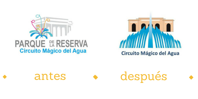 Nuevo logo del Circuito mágico del Agua: Los mejores memes