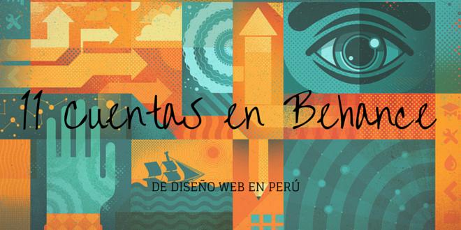 11 cuentas en Behance de diseño web en Perú