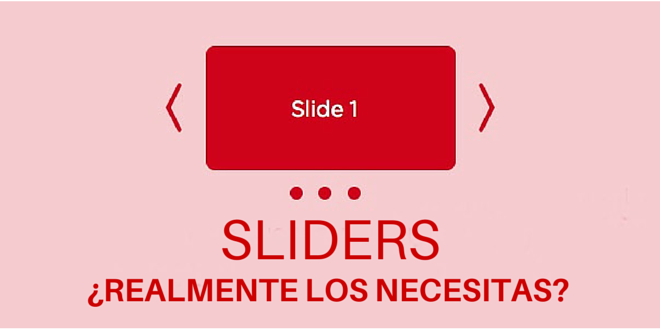 Sliders: ¿Realmente los necesitas?