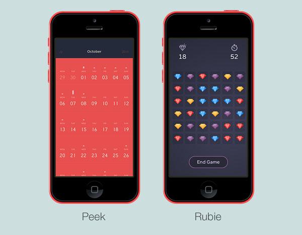 01-5 tendencias de diseño de aplicaciones móviles de las cuales podemos aprender algo