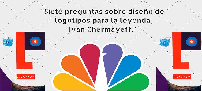 Siete preguntas sobre diseño de logotipos para la leyenda Ivan Chermayeff