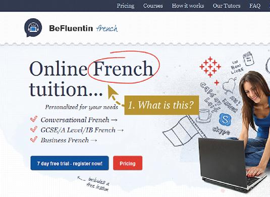 Es claro saber lo que esta página Web ofrece.