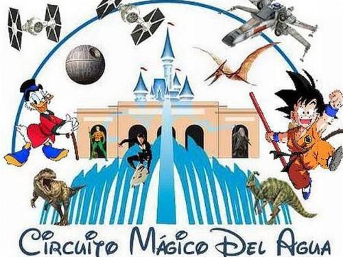 Circuito Magico Del Agua : Nuevo logo del circuito mágico agua los mejores memes