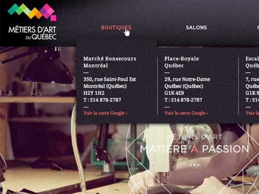 """En esta página Web, Maya se enfoca en el tema """"pasión por la comida"""""""
