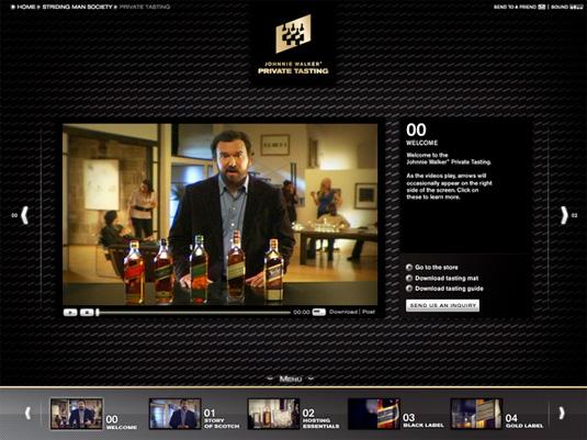 Zach ha creado este gran exitoso programa de múltiples canales.