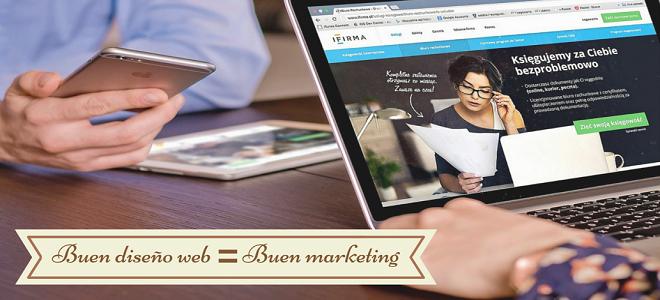 Por qué un buen diseño web genera los mejores resultados de marketing