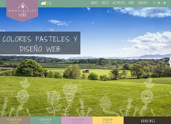 Cómo usar colores pastel en proyectos de diseño de páginas web