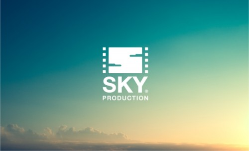logo sky production