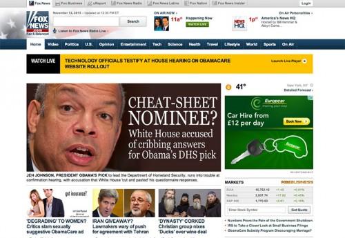 Fox News - Titulares