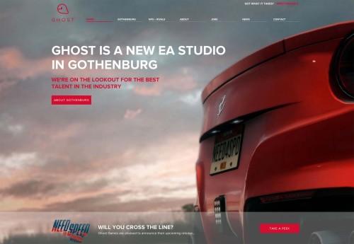 Ghost Games - Homepage