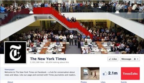 New York Times cabecera