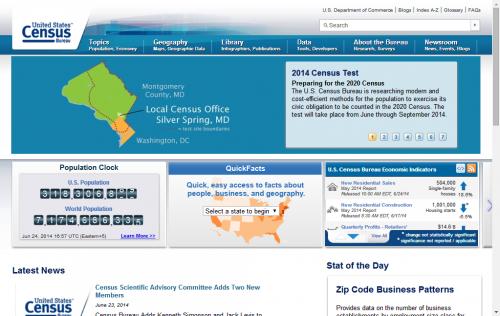 Oficna de Censos EEUU