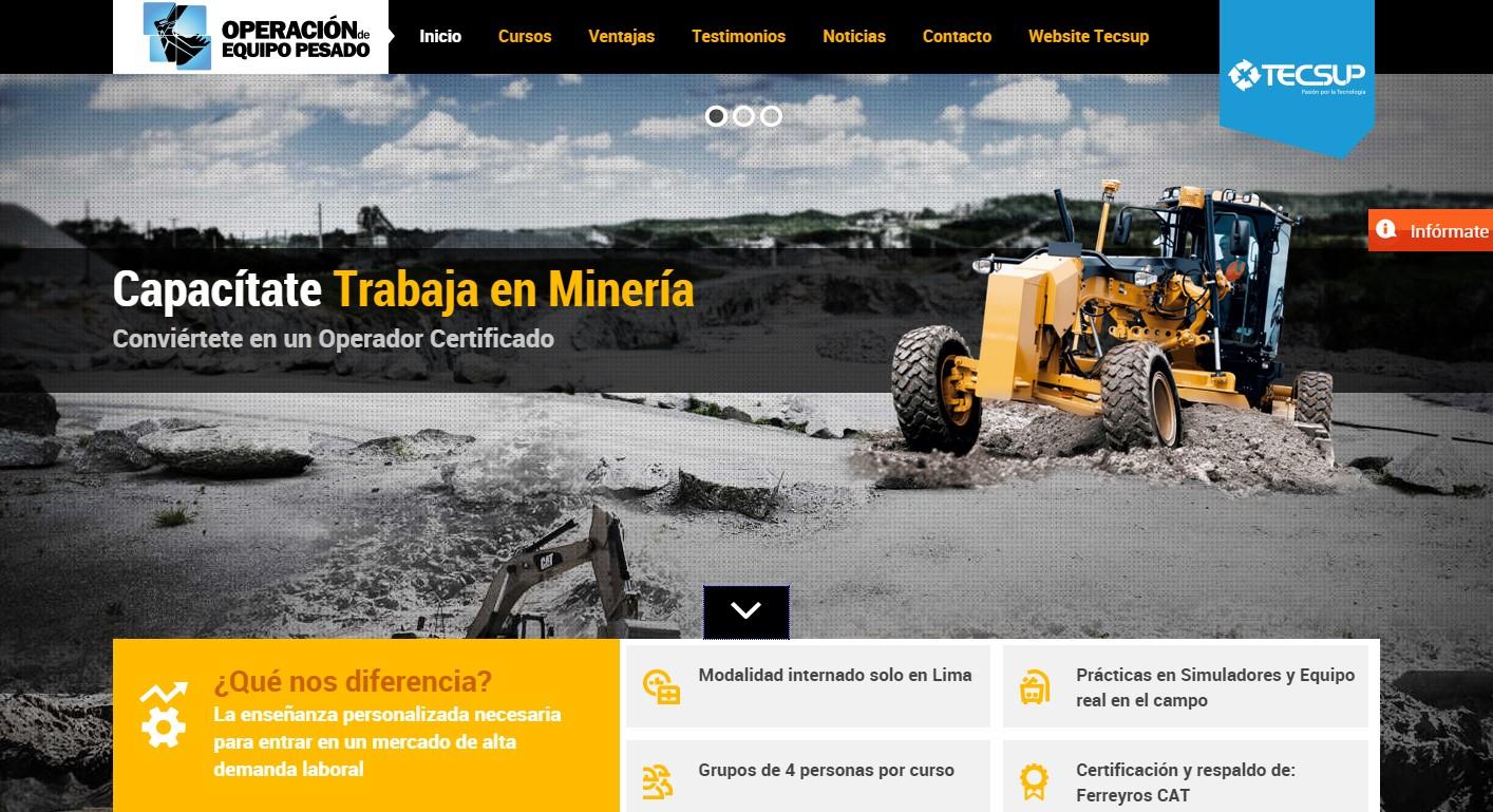 página-web-tecsup