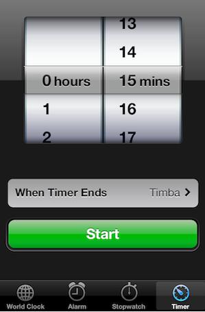 Usa un temporizador para monitorear tu tiempo de actividades sociales.