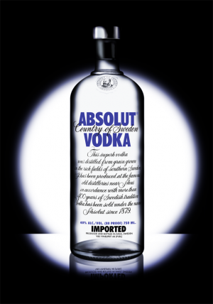 Anuncio de Absolut Vodka Suecia