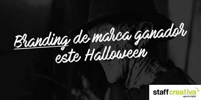 Branding de marca ganador este Halloween