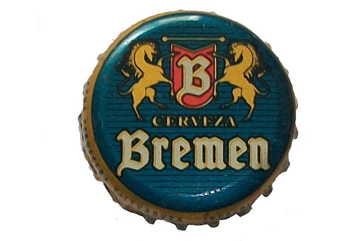 chapa de cerveza bremen