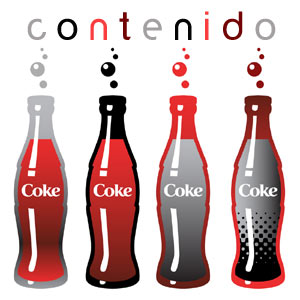 Marketing de contenidos, logo