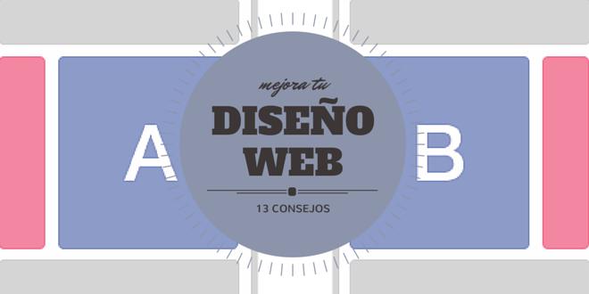 13 consejos para mejorar tu diseño web