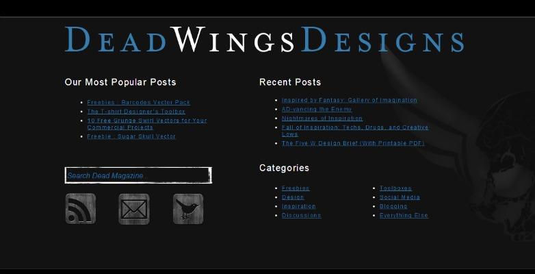 Deadwings blog