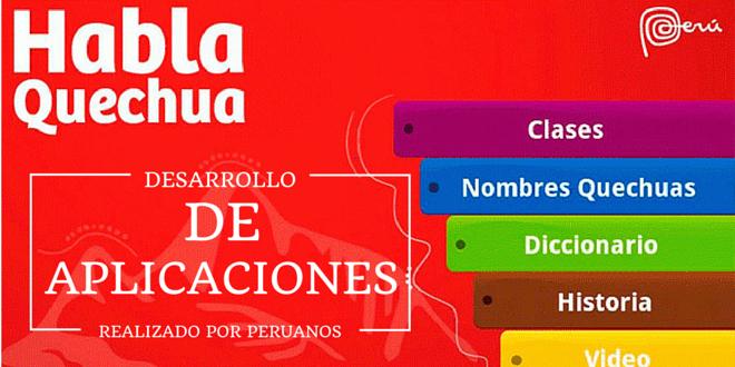 Desarrollo de aplicaciones móviles realizado por peruanos