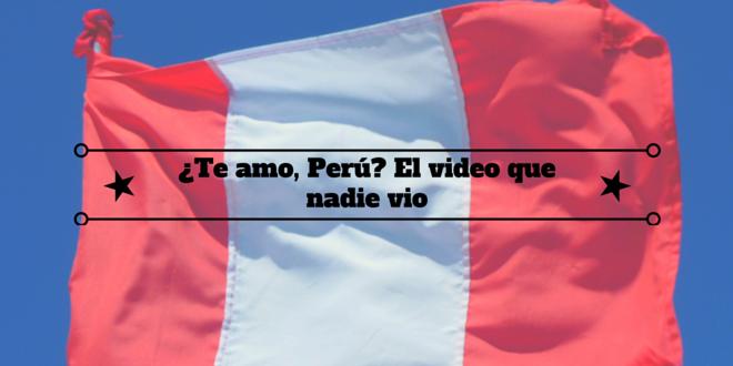 Perú-video