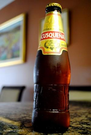 El envase de Cerveza Cuzqueña