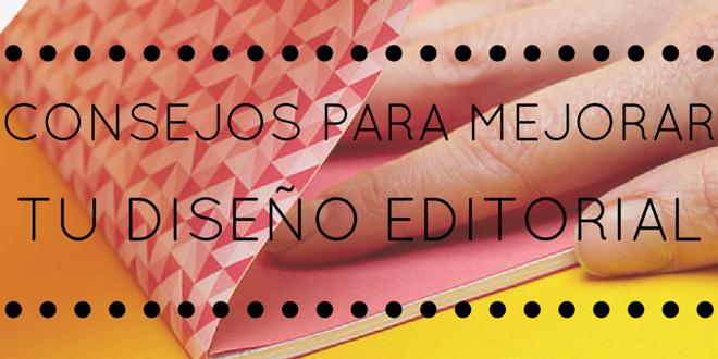 10 consejos para un buen diseño editorial