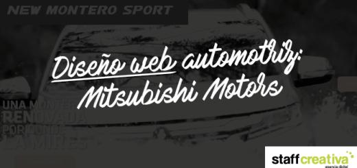 diseno web automotriz mitsubishi 01