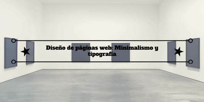 Dise o de p ginas web minimalismo y tipograf a rinc n for Zapateros de diseno minimalista