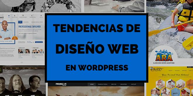 Todo que necesitas saber las tendencias 2015 de diseño web en WordPress