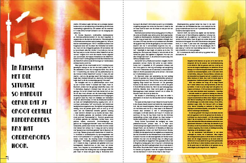 Columnas en el diseño de revistas
