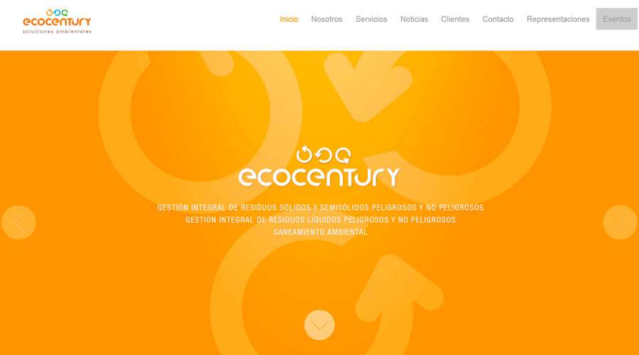 Ecocentury - Landing Pages