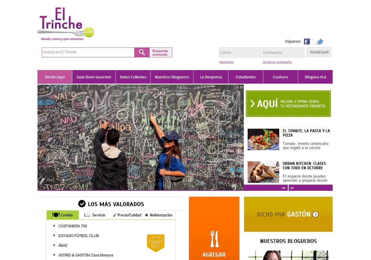 10 Páginas Peruanas con un Excelente Diseño Web | Rincón Creativo