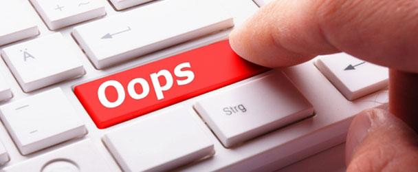 15 Errores que debes Evitar en el Diseño Web