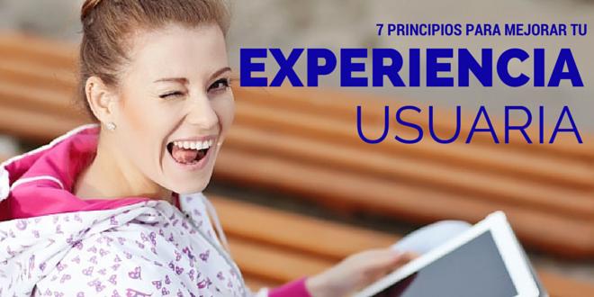 7 principios IU/UX para crear una experiencia usuaria fresca