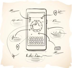 boceto aplicacion smartphone