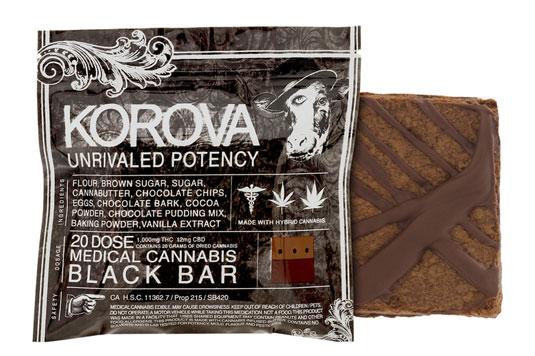 El packaging artesanal de Korova luce como una muestra de horror.
