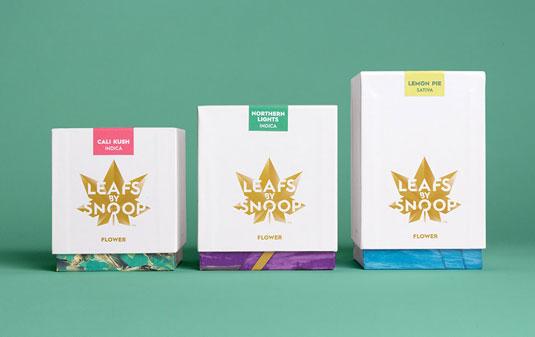 El packaging creado por Pentagram para Snoop es de gloriosamente de alta calidad.