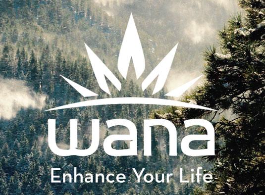 Mejora tu vida con Wana, inteligente disfrazado como una marca de comida sana.