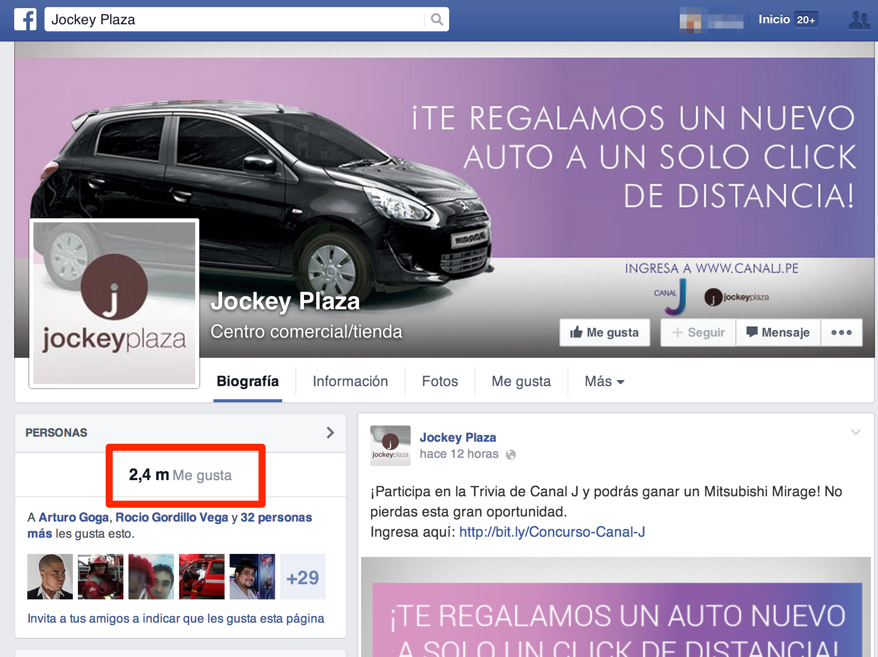 Facebook Jockey Plaza