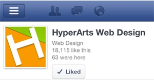 La imagen principal de tu marca usada en la aplicación de Facebook en iPhones y otros aparatos móviles.