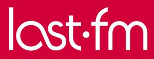 Logo de Last.fm, red social musical, la primera en su género.