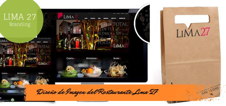 El Diseño De Imagen Del Restaurante Lima 27 Rincón Creativo