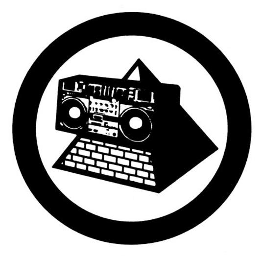 Perfectamente formado para un vinilo, este es el diseño de logo ideal para el grupo de acid house.