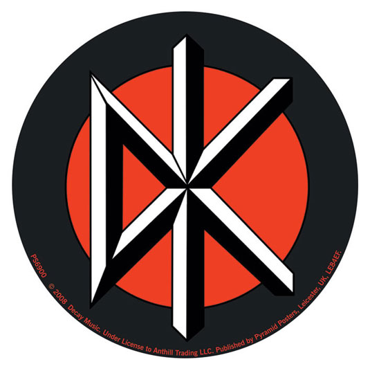 Un símbolo punk icónico que se puede dibujar fácilmente como un signo de anarquía.