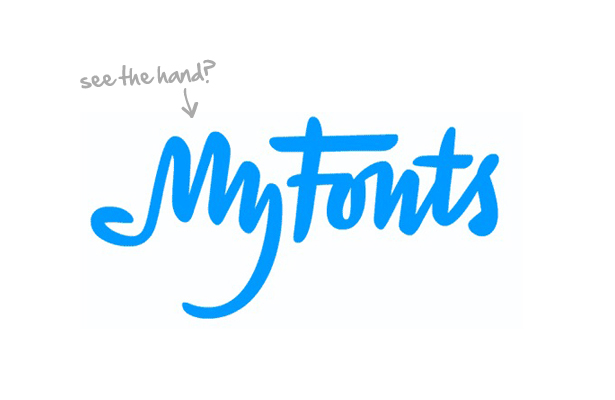 logo de myfonts