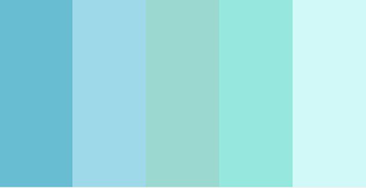 Cómo usar Colores Fríos en Proyectos de Diseño