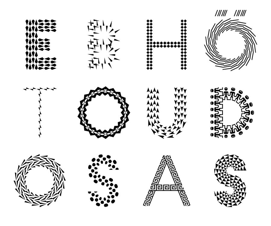 Tipografías y patrones
