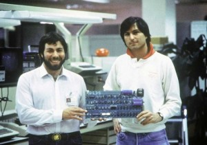 Steve Wozniak y Steve Jobs
